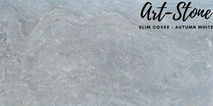 Đá ốp tường mỏng cao cấp Art Stone - Khổ 610mmx1220mm - Màu sắc: Slim Cover_Autumn White - Đá mỏng khoảng 2mm - Vị trí sử dụng: đá ốp tường, đá ốp trần, ốp bếp, phòng ngủ, phòng khách, vách,.... - Đá ốp tường được bảo hành lên đến 5 năm chính hãng.2