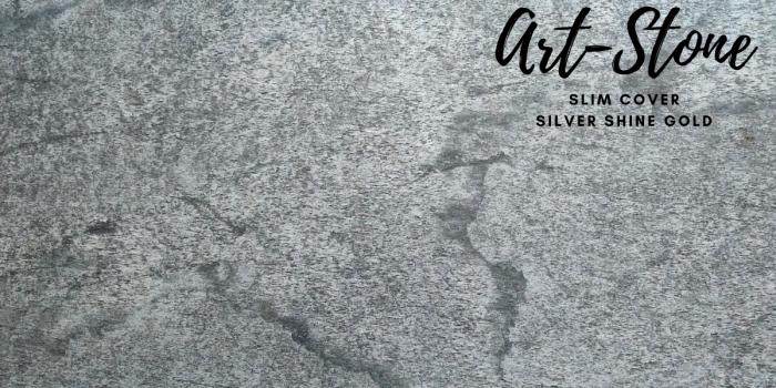 Đá ốp tường mỏng cao cấp Art Stone - Khổ 610mmx1220mm - Màu sắc: Slim Cover_ Silver Shine Gold - Đá mỏng khoảng 2mm - Vị trí sử dụng: đá ốp tường, đá ốp trần, ốp bếp, phòng ngủ, phòng khách, vách,.... - Đá ốp tường được bảo hành lên đến 5 năm chính hãng.4