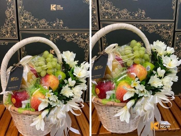 Giỏ hoa quả chia buồn - FSNK175 - Ảnh: 32