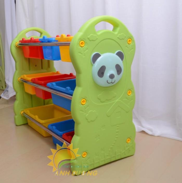Kệ nhựa trẻ em cho trường lớp mầm non, gia đình giá rẻ, chất lượng cao8