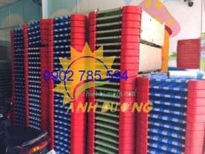 Giường lưới cho bé thoáng mát tiết kiệm diện tích1