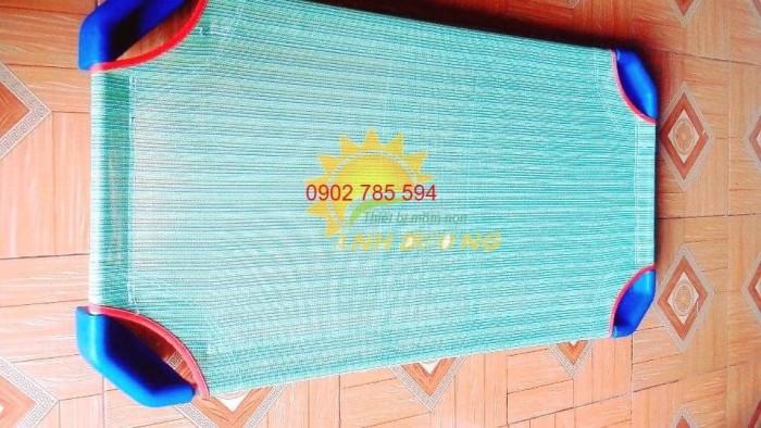 Giường lưới cho bé thoáng mát tiết kiệm diện tích9