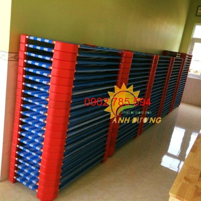Giường lưới cho bé thoáng mát tiết kiệm diện tích13