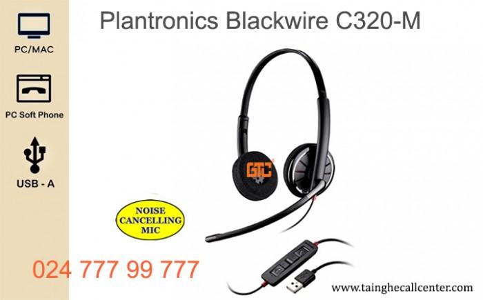 Tai nghe Plantronics BlackWire C320-M1