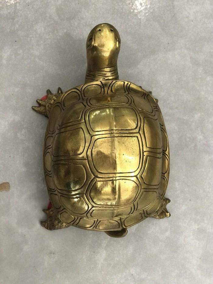 Tượng Rùa bằng đồng nguyên chất cỡ đại1