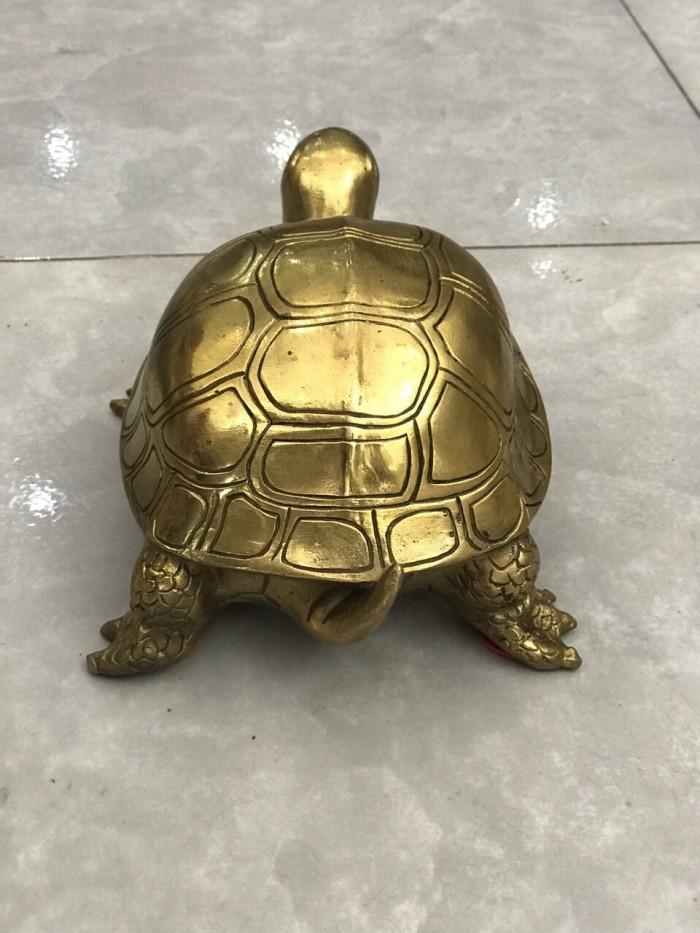 Tượng Rùa bằng đồng nguyên chất cỡ đại2