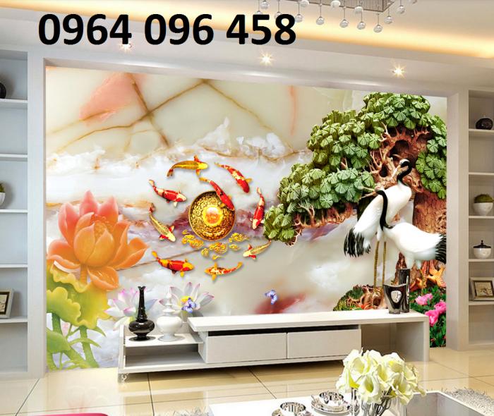 Gạch 3d phòng khách -CB095