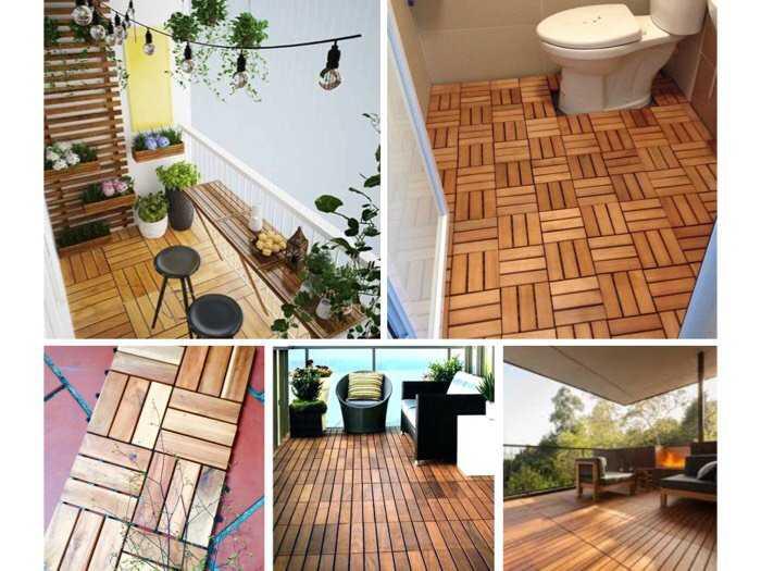 Tấm gỗ lót sàn tiện lợi, dùng ở nhiều vị trí0