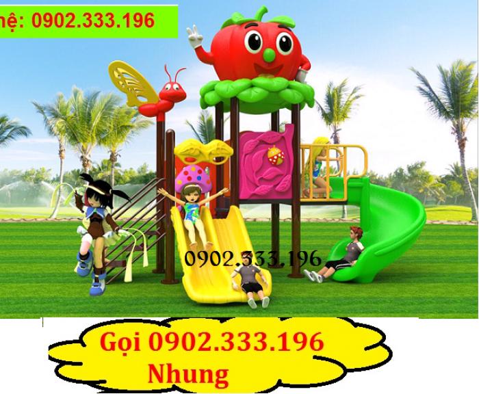 Cầu trượt liên hoàn giá rẻ, đồ chơi liên hoàn giá rẻ