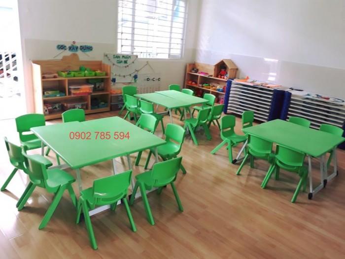 Nơi cung cấp bàn ghế mầm non giá sỉ - bảo hành 1 năm11