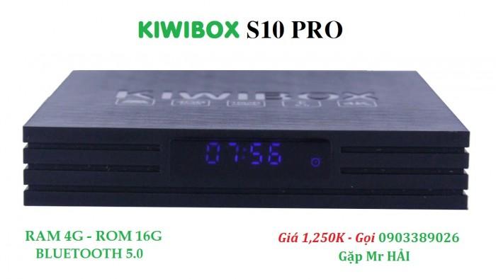 KIWIBOX S10 PRO  - Kết nối và biến tất cả các loại TV thành TV thông minh.