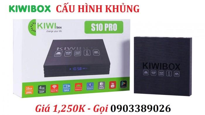 KIWIBOX S10 PRO Kho ứng dụng khổng lồ Google Play Store