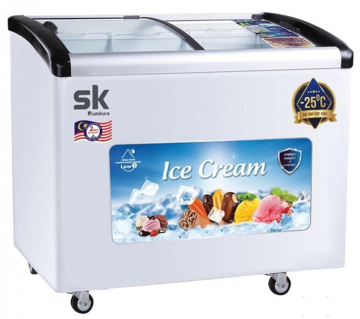 Tủ đông SK Sumikura SKFS-400C(FS) 400 lít chứa kem0