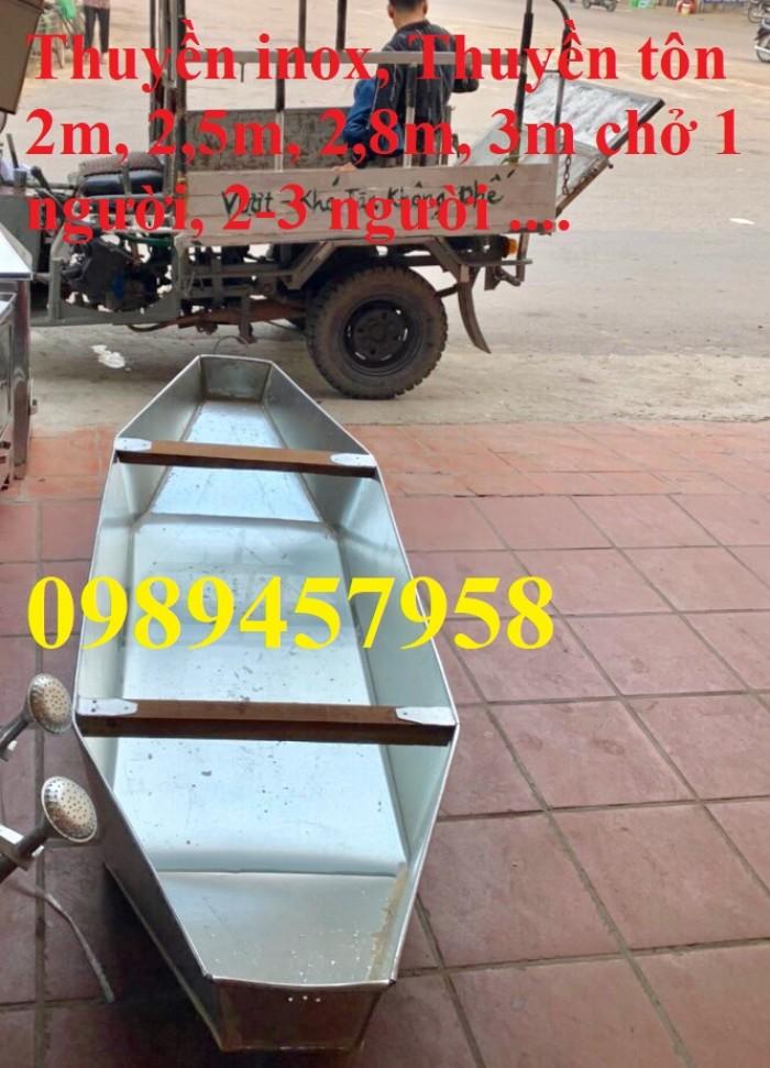 Bán thuyền tôn câu cá 1,8m, 2m, 2,2m, 2,5m, 3m chở 2-3 người, 4-5 người11