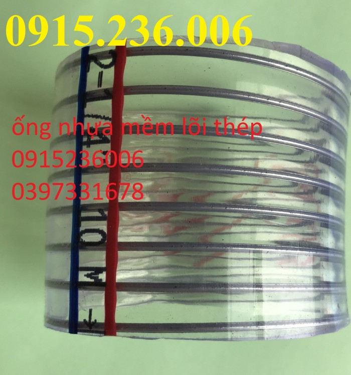 Ống nhựa mềm lõi thép, ống nhựa lõi thép D100, D110, D120, D127, D150, D20ốt1