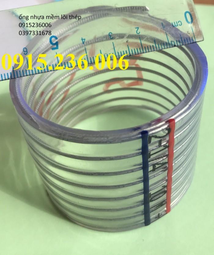 Ống nhựa mềm lõi thép, ống nhựa lõi thép D100, D110, D120, D127, D150, D20ốt2