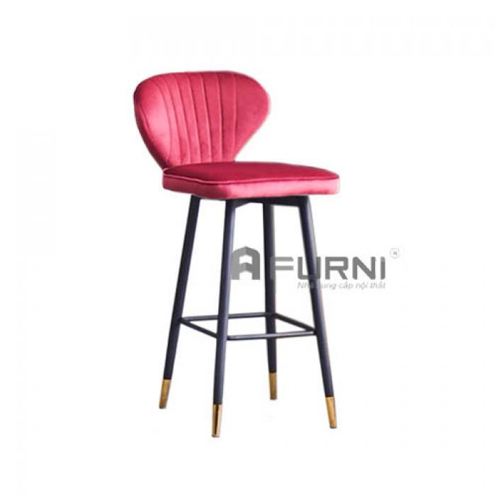 CB LOUIS 4C-F | Ghế bar bọc nhung cho Spa thẩm mỹ viện hiện đại giá rẻ TPHCM3