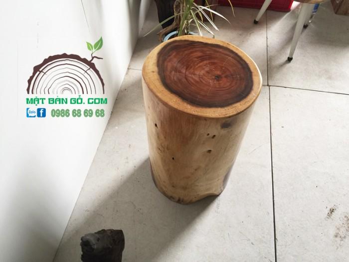 Đôn Gỗ Me Tây 01 ( D 30cm Cao 50cm )