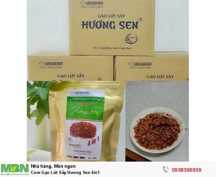 Mua Cơm Gạo Lứt Sấy Hương Sen 4in1   Sản phẩm và Thương hiệu độc quyền -Liên hệ 0938395939 - 1