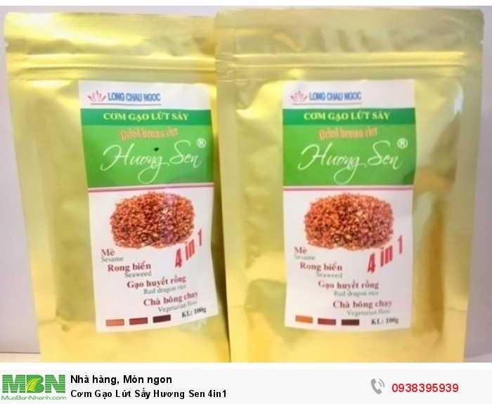 Mua Cơm Gạo Lứt Sấy Hương Sen 4in1   Sản phẩm và Thương hiệu độc quyền -Liên hệ 0938395939 - 7