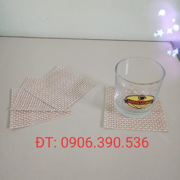 Tấm nhựa placemat hoa văn, trang trí bàn ăn đẹp, sang trọng5