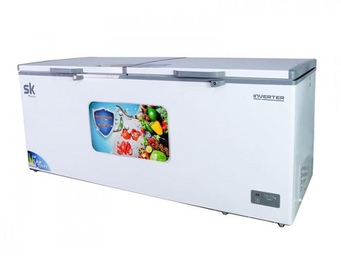 Tủ đông Inverter Sumikura 750 lít SKF-750SI đồng R600A làm bia sệt đông mềm0