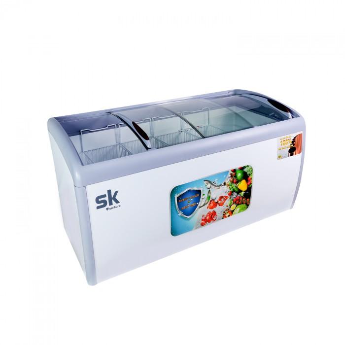Tủ đông Sumikura SKFS-300C kính lùa 300 lít