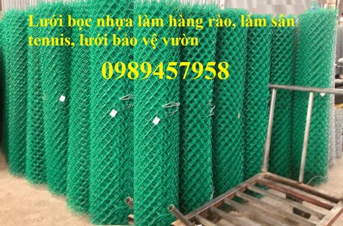 Lưới hàng rào b40 bọc nhựa, lưới thép bọc nhựa ô 10x10, 20x20, 30x30, 50x5011