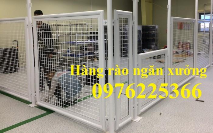 Lưới hàng rào công trình, hàng rào công nghiệp, hàng rào bảo vệ1