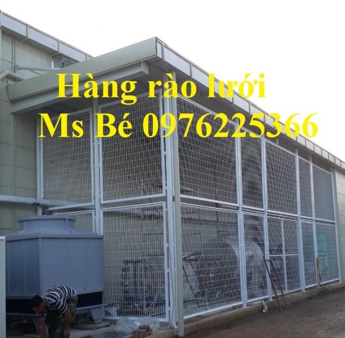 Lưới hàng rào công trình, hàng rào công nghiệp, hàng rào bảo vệ3