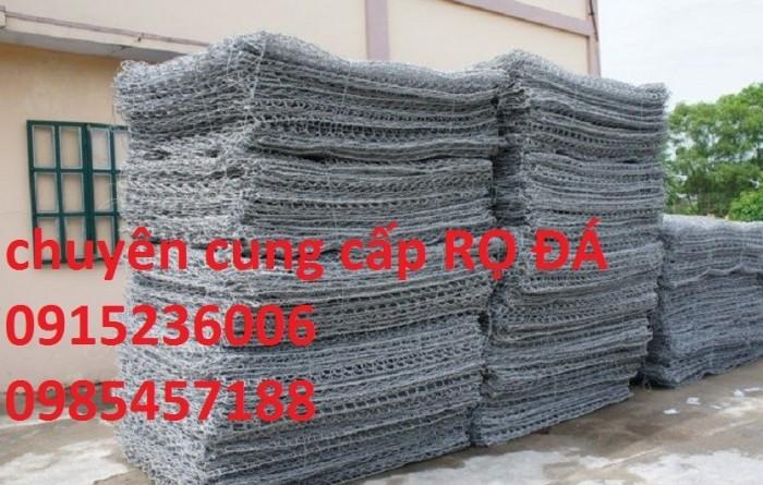 Nơi Sản xuất Rọ đá mạ kẽm, rọ đá bọc nhựa 2x1x0,5, 2x1x1, 1x1x1 giá tốt