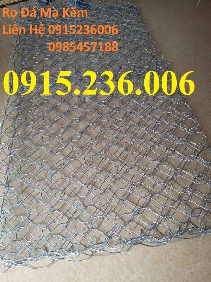 Nơi Sản xuất Rọ đá mạ kẽm, rọ đá bọc nhựa 2x1x0,5, 2x1x1, 1x1x1 giá tốt1