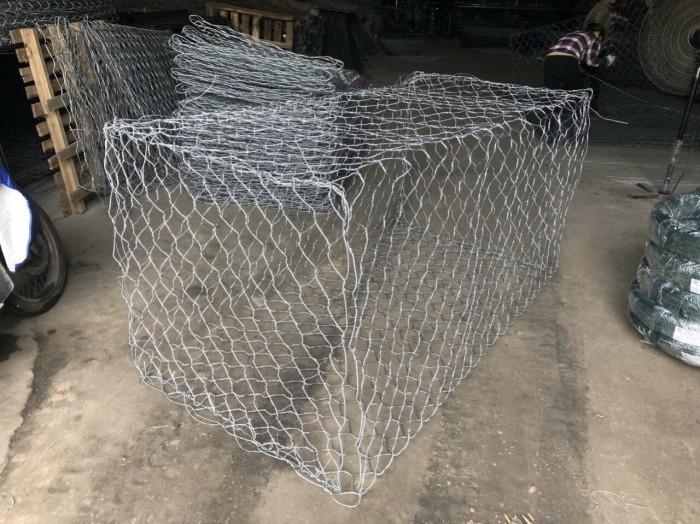 Nơi Sản xuất Rọ đá mạ kẽm, rọ đá bọc nhựa 2x1x0,5, 2x1x1, 1x1x1 giá tốt4