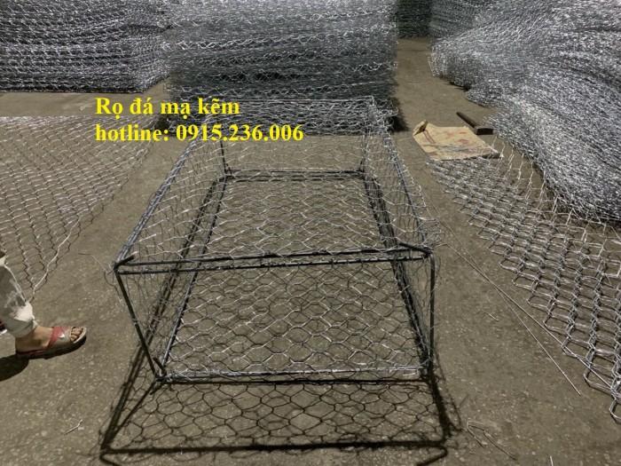 Nơi Sản xuất Rọ đá mạ kẽm, rọ đá bọc nhựa 2x1x0,5, 2x1x1, 1x1x1 giá tốt6