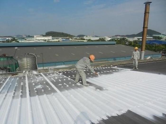 Phun sơn chống nóng mái tôn, các loại sơn chống nóng, sơn chống nóng loại nào tốt nhất, sơn chống nóng cho mái nhà - Giải pháp chống nóng, cách nhiệt hiệu quả
