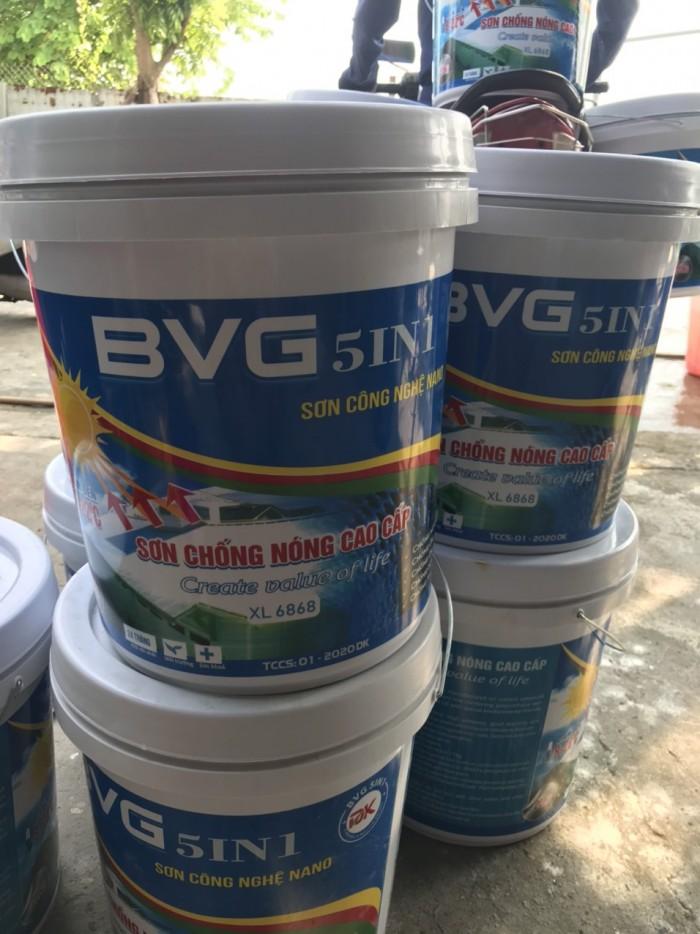 sơn chống nóng, sơn chống nóng mái tôn, son chong nhiet giá rẻ Hà Nội, TPHCM