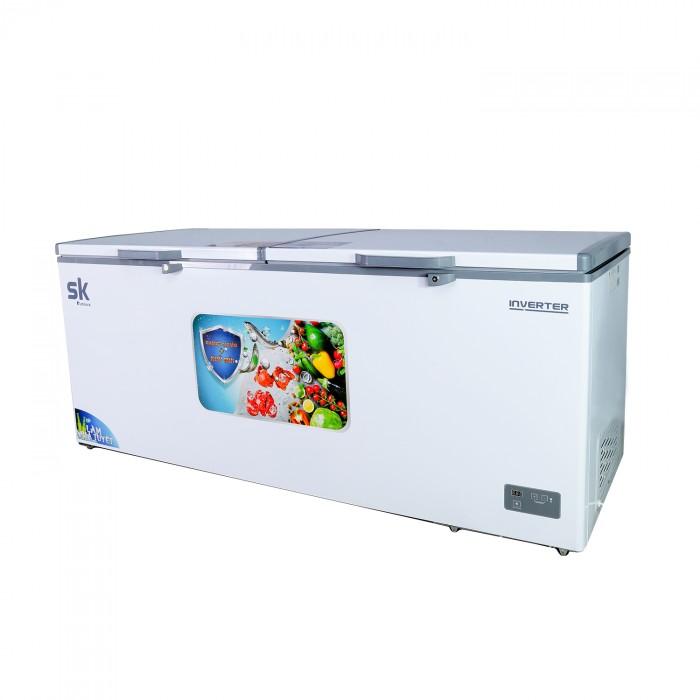 Tủ đông mát inverter sumikura skf-500di 500 lít dàn lạnh đồng