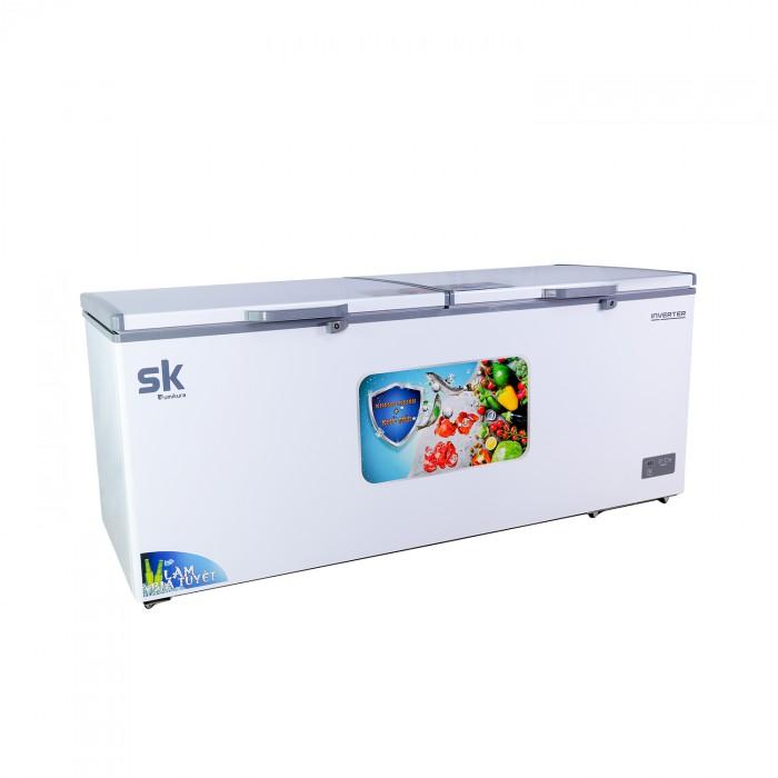 Tủ đông mát sumikura skf-600di 600 lít dàn lạnh đồng
