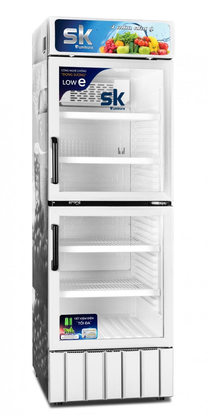 Tủ mát sk sumikura sksc-450d2 450 lít 2 cửa0