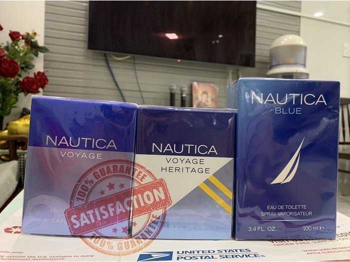 Nước hoa Nam Nautica Voyage - Nautica Heritage - Nautica Blue EDT 100ml , Us , nguyên seal.0