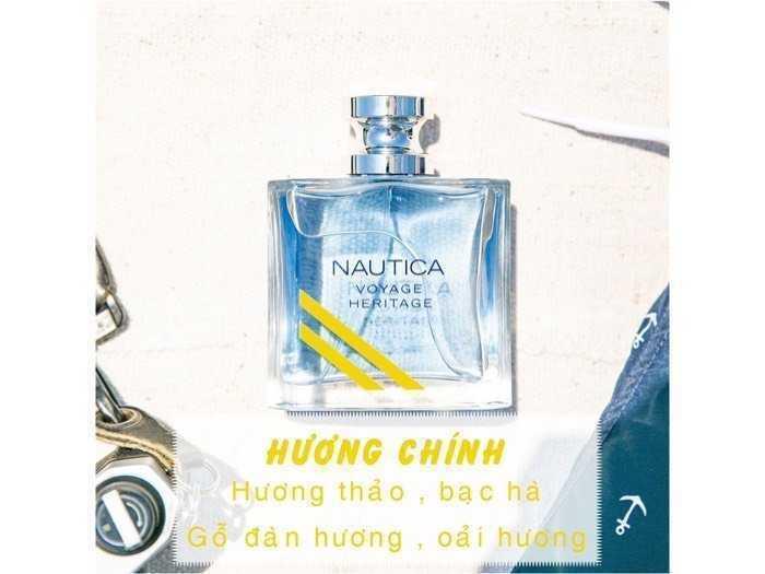 Nước hoa Nam Nautica Voyage - Nautica Heritage - Nautica Blue EDT 100ml , Us , nguyên seal.2