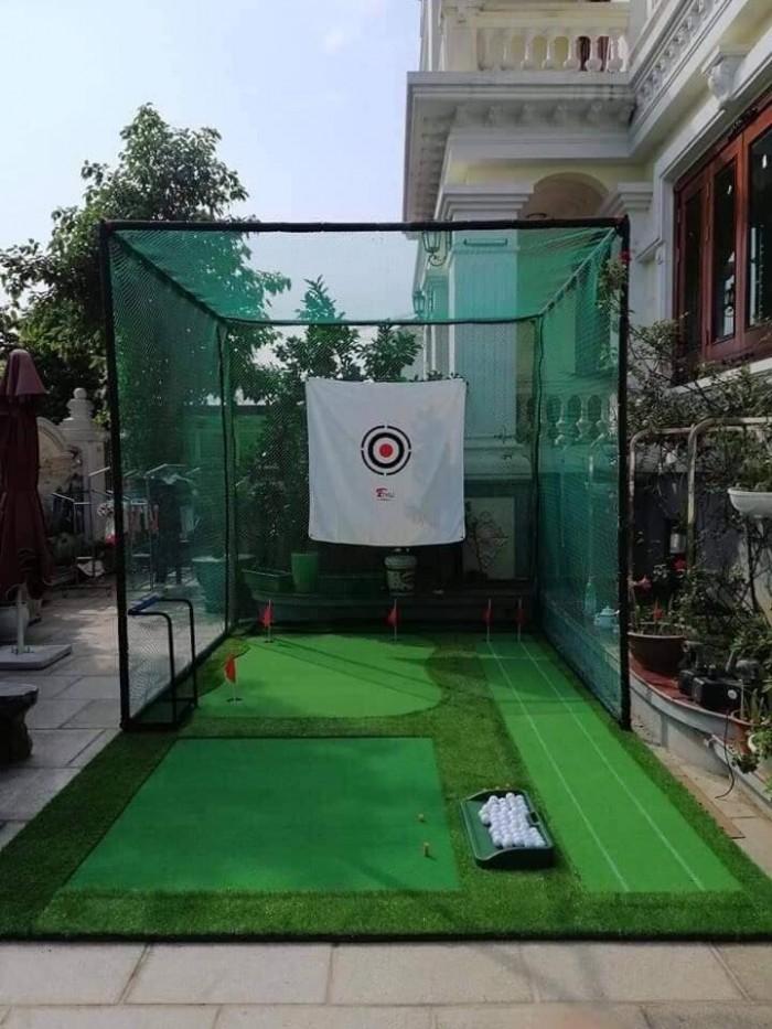 Khung lưới tập chơi golf tại nhà1