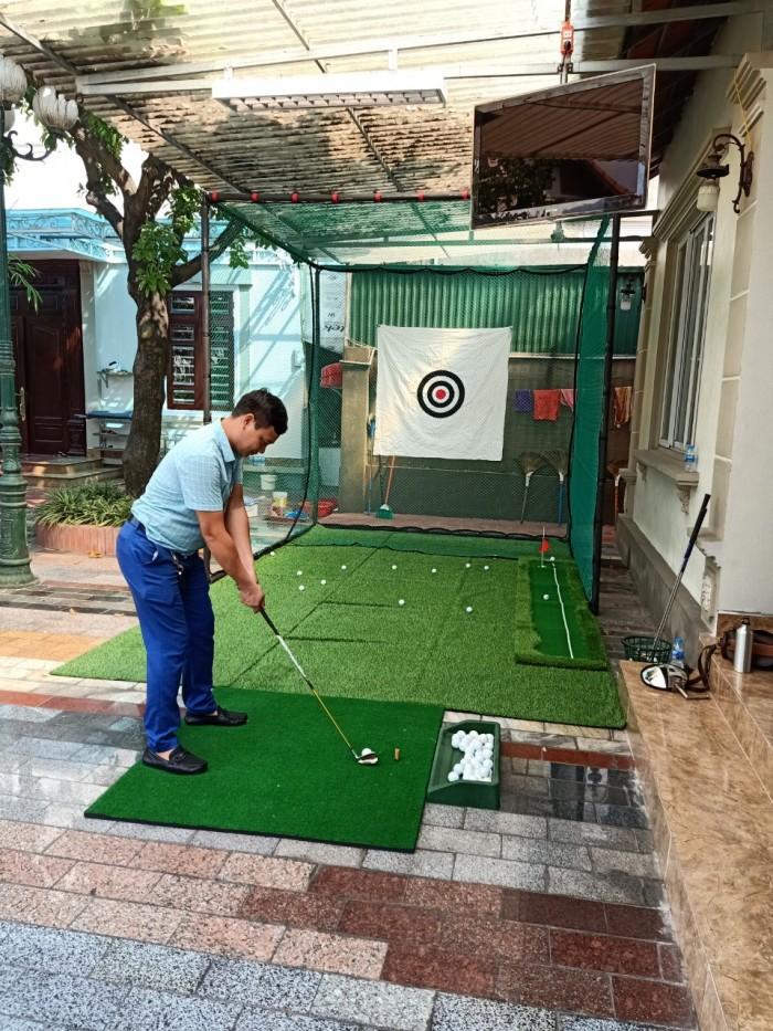 Khung lưới tập chơi golf tại nhà3