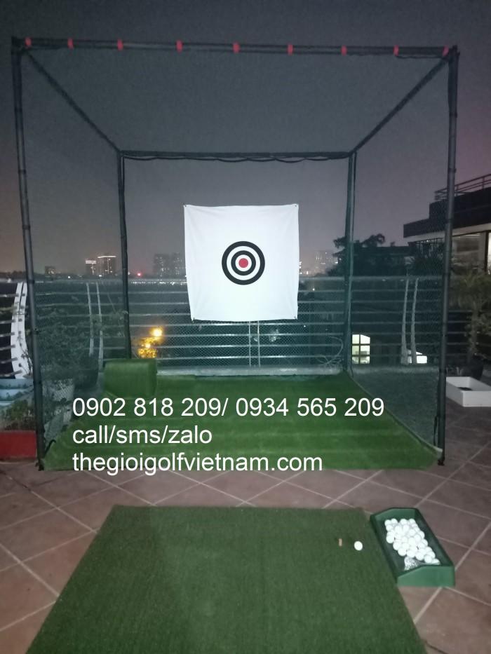 Khung lưới tập chơi golf tại nhà4