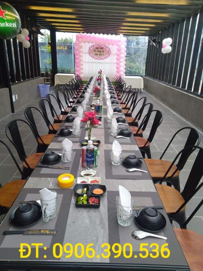 Tấm nhựa placemat hoa văn, trang trí bàn ăn đẹp, sang trọng7