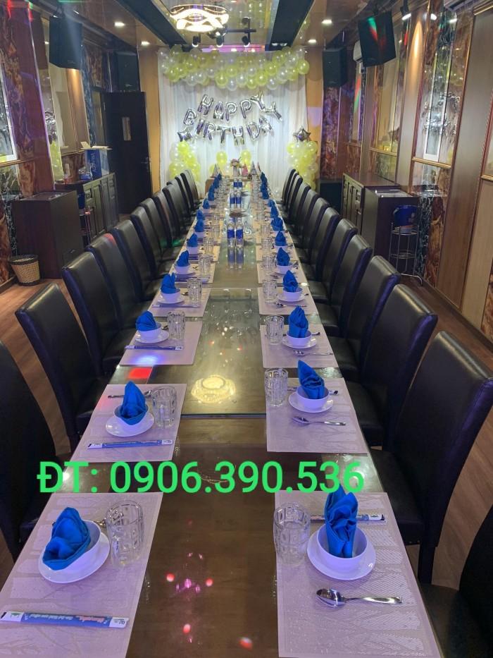 Tấm nhựa placemat hoa văn, trang trí bàn ăn đẹp, sang trọng9