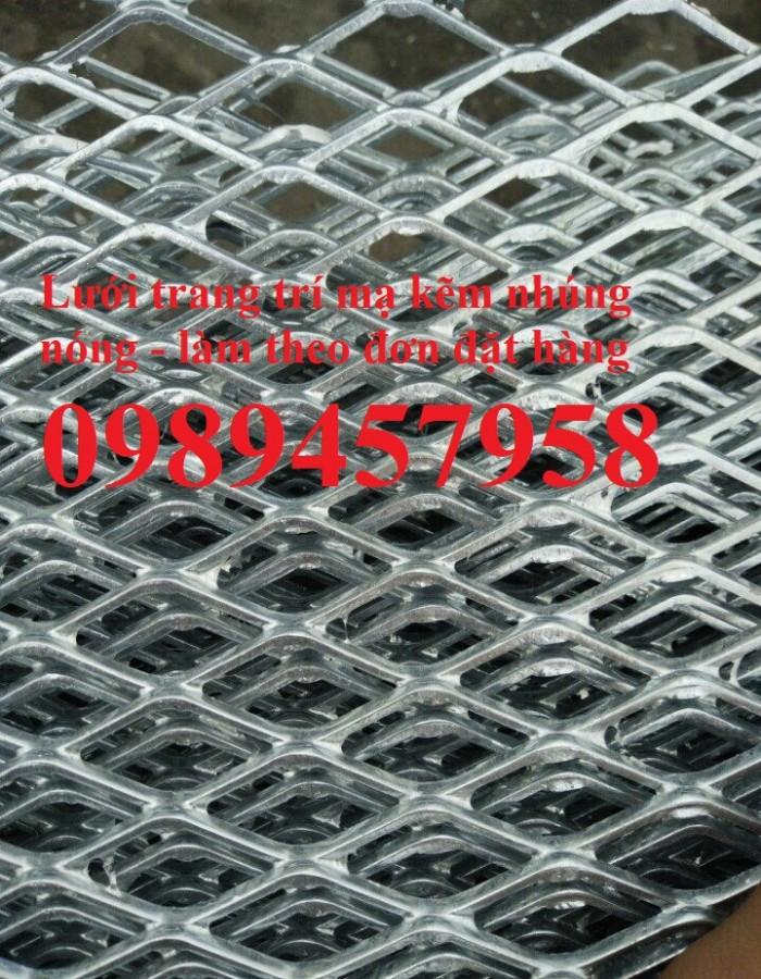 Lưới hình thoi inox 304 , Lưới mắt cáo mạ nhúng nóng, lưới inox hình thoi6