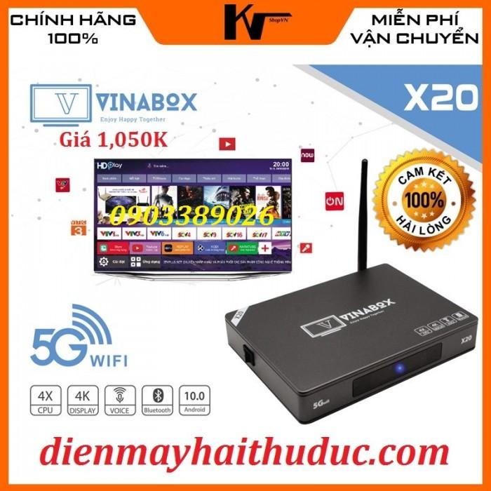 VinaBox X20 Xem trên dưới 200 kênh truyền hình đặc sắc trong và ngoài nước