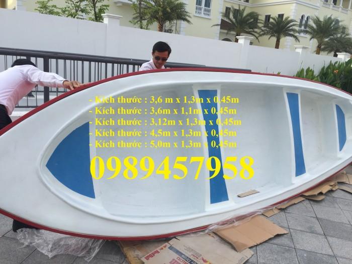 Thuyền nhựa chèo tay 3m, thuyền có mái che, Thuyền du lịch7