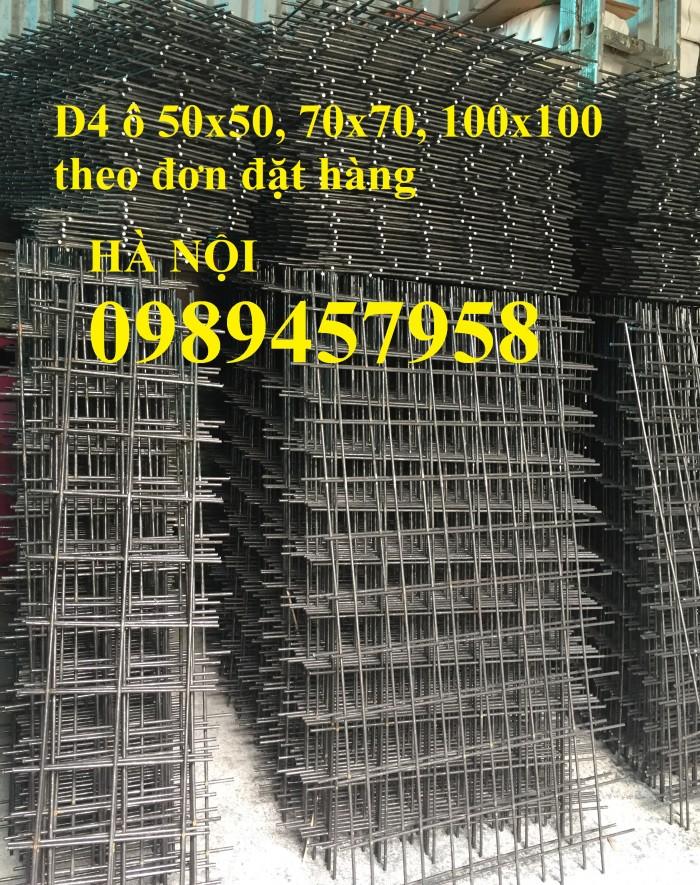 Sản xuất lưới thép tấm Phi 4, phi 5, phi 6, phi 8 lưới thép đổ sàn 200x2003